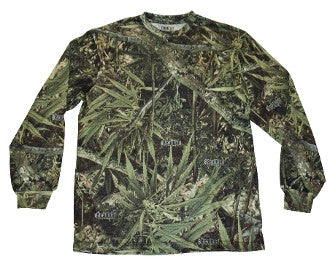 Real Bud Camo Long Sleeve T-shirt