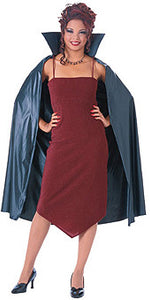 "45"" Vinyl Cape with Stand-Up collar"