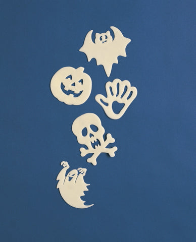Glow-in-the-Dark Mini Wall Decorations