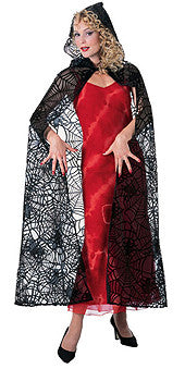 "57"" Spider Lace Cape"