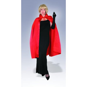 "45"" Red Satin Cape"