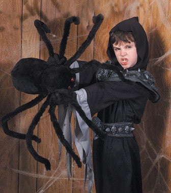 50 Inch Plush Spider with Jewel Eyes