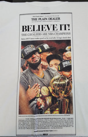 Cavs Plain Dealer Shirt