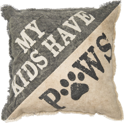Pillow - Kids Have Paws