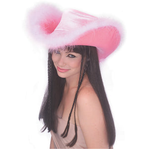 Pink Midnight Cowgirl Hat