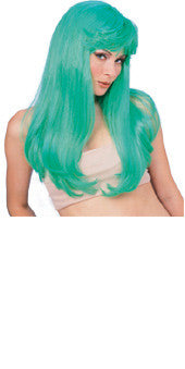 Glamour Teal Green Wig