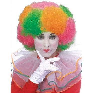 Clown Multi Neon Wig