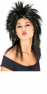 Superstar Tinsel Wig - Gold Tinsel