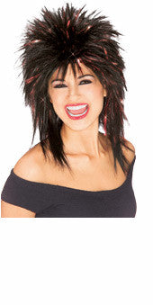 Superstar Tinsel Wig - Red Tinsel