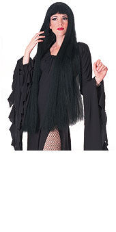 "Witch 38"" Black Wig"