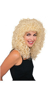 Curly Extra Long Blonde Wig