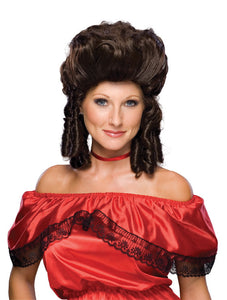 Colonial Lady Brown Wig