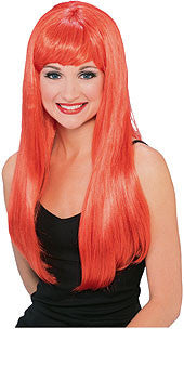 Glamour Red Wig