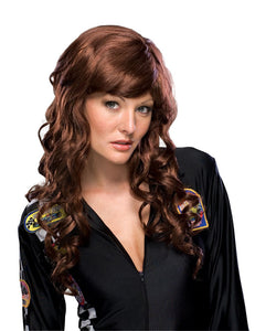 Movie Starlet Brown Wig