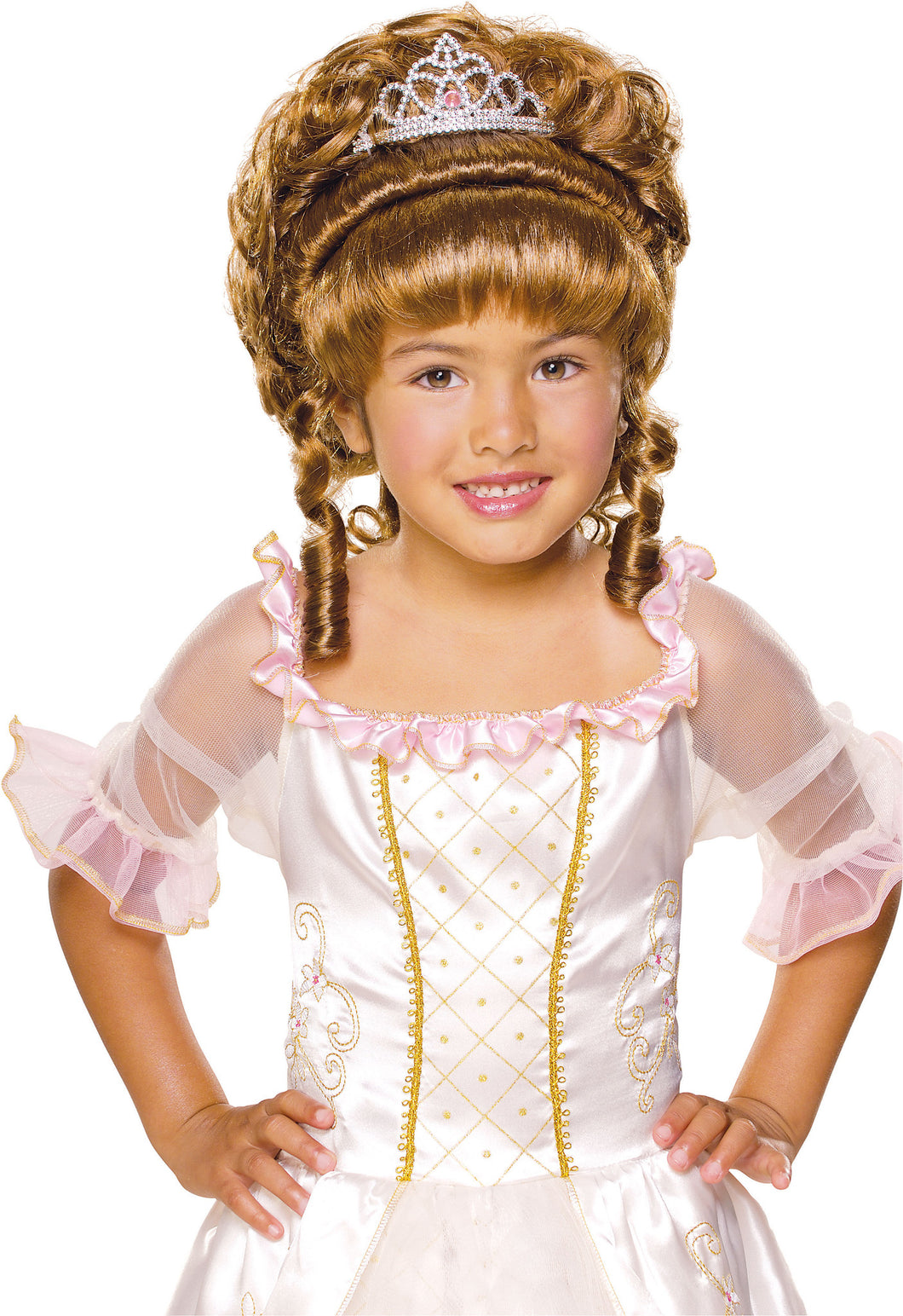 Charming Princess Brown Wig