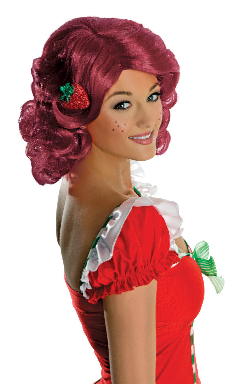 Strawberry Shortcake Deluxe Wig