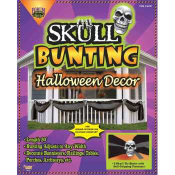 Skull Bunting Decoration