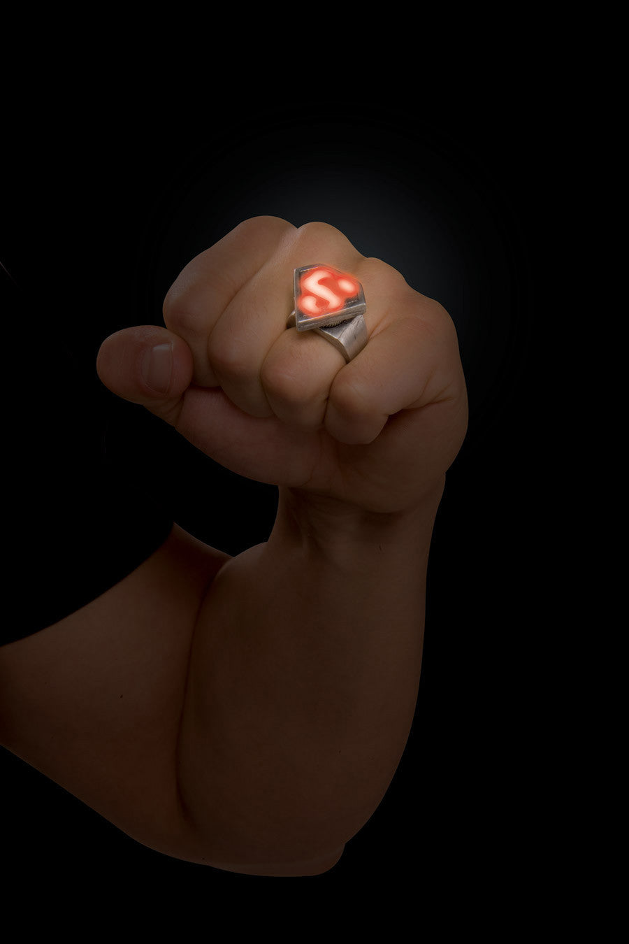 Superman Metal LED Ring