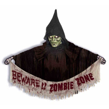 Zombie Wall Hanging with Hood