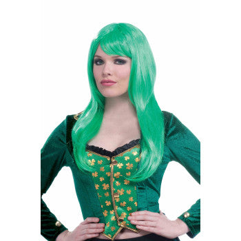 Irish Lass Green Wig
