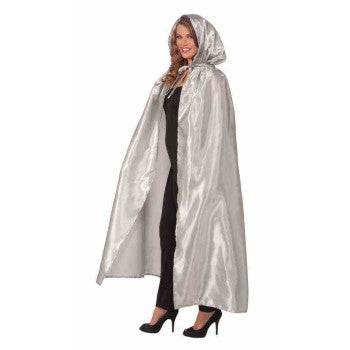 Fancy Silver Masquerade Cape