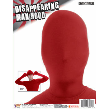 Disappearing Man Hood