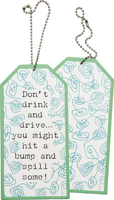 Bottle Tag - Drink and Drive