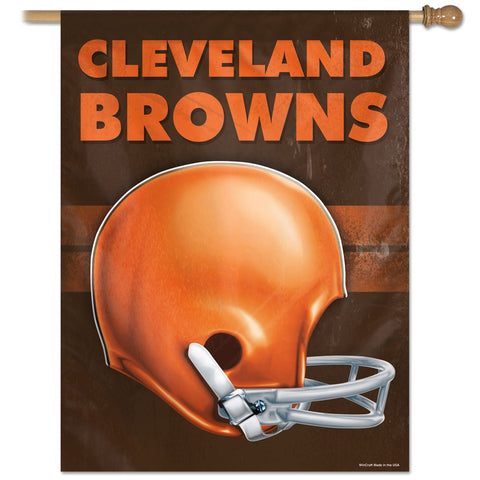 Cleveland Browns Vertical Flag