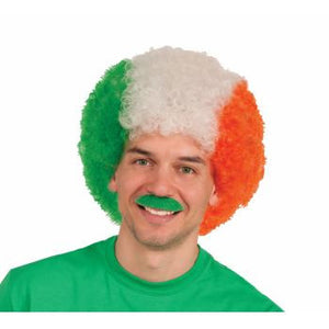Clown Irish Flag Wig