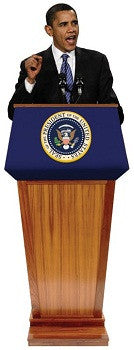 Barack Obama Podium Standup