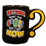Question Mark Mug Retired