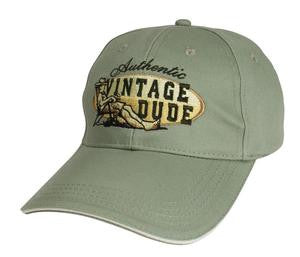 Vintage Dude Cap Chill