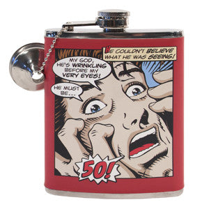 Comics Flask Guy 50