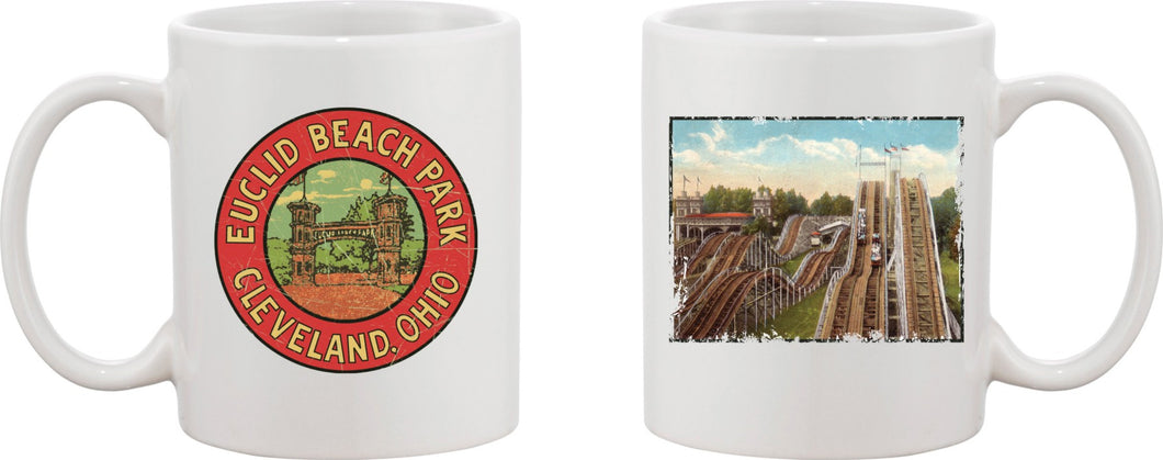 Euclid Beach Coaster Mug