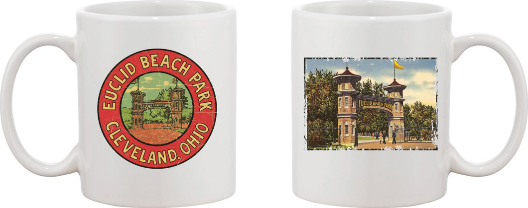Euclid Beach Entrance Mug