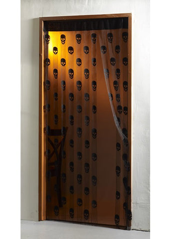 Skull Door Curtain