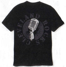 Cleveland Rocks Microphone T-shirt