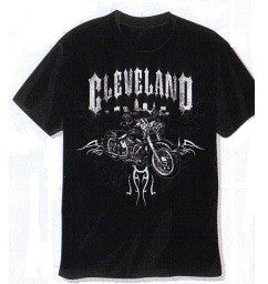 Cleveland Motorcycle T-shirt