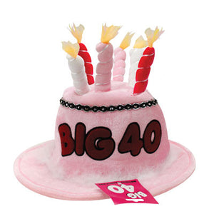Birthday Candle Hat 40