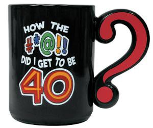 Question Mark Mug 40