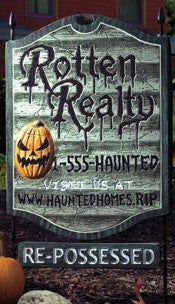 Rotten Realty Sign