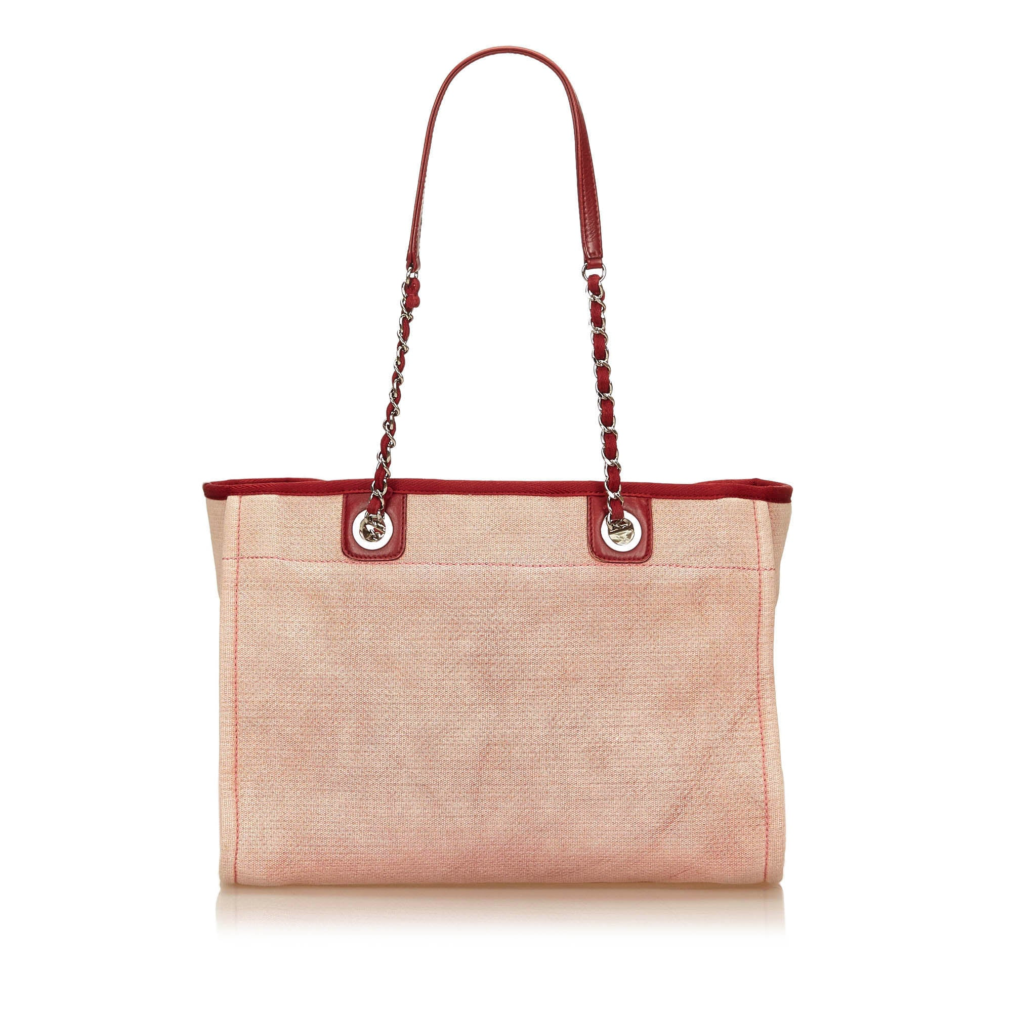 Red Large Deauville Tote