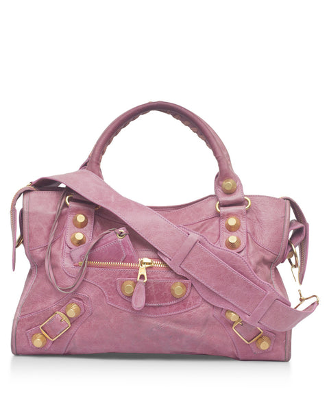 Pink Giant City Bag