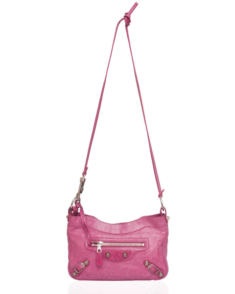 Pink Hip Cross Body Bag