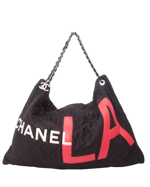 Black Canvas L.A Bag