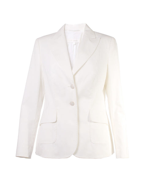 White Blazer Size 14 UK