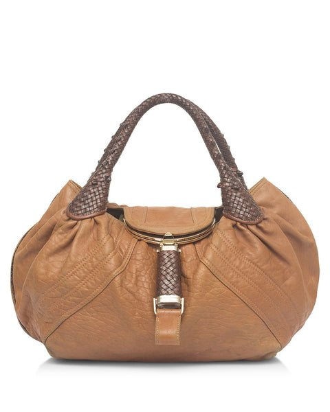 Tan Spy Bag