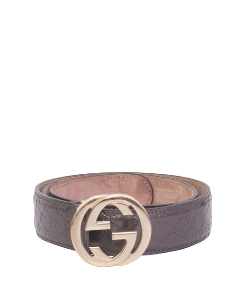 Grey GG belt