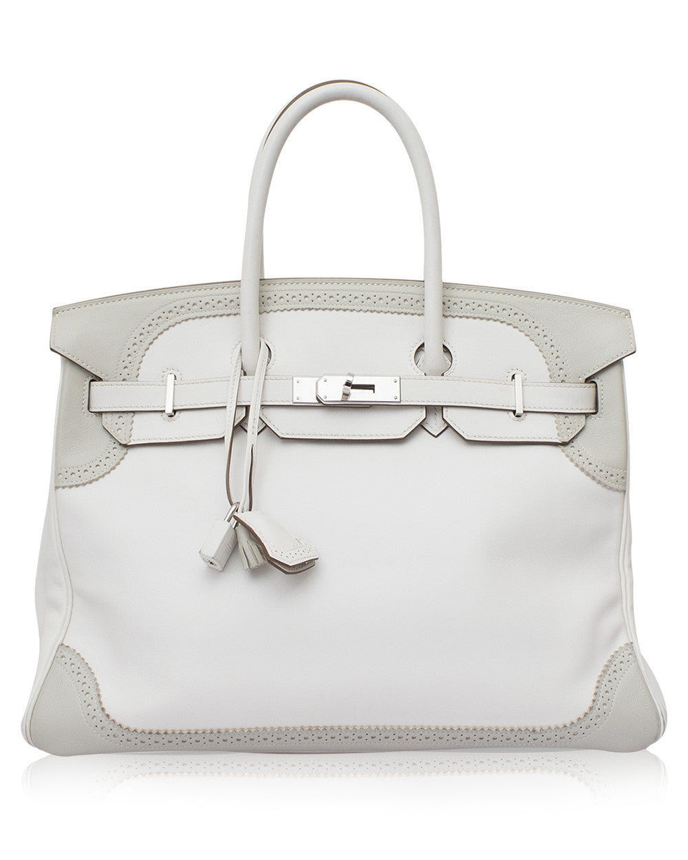Hermes Birkin 35 Ghillies Bag