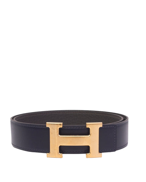 Navy/Grey Constance Belt